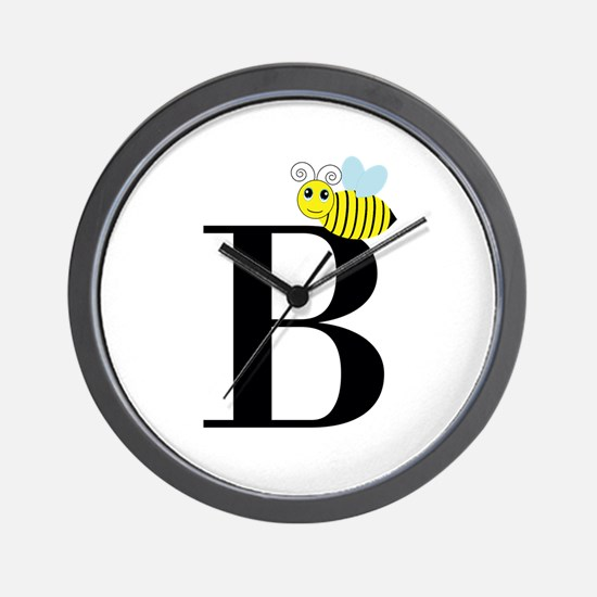 B is for Bee Wall Clock