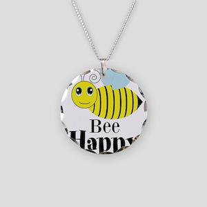 Bee Happy Honey Bee Necklace