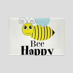 Bee Happy Honey Bee Magnets