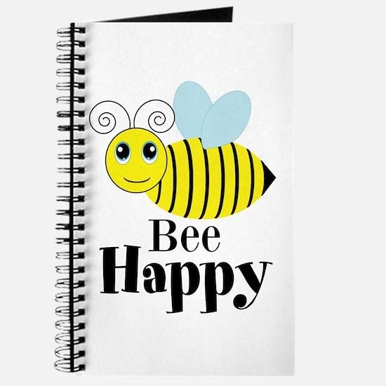 Bee Happy Honey Bee Journal