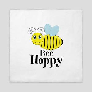 Bee Happy Honey Bee Queen Duvet
