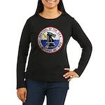USS FURSE Women's Long Sleeve Dark T-Shirt