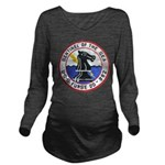 USS FURSE Long Sleeve Maternity T-Shirt