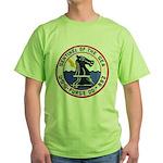 USS FURSE Green T-Shirt