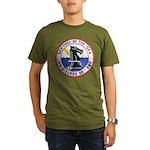 USS FURSE Organic Men's T-Shirt (dark)