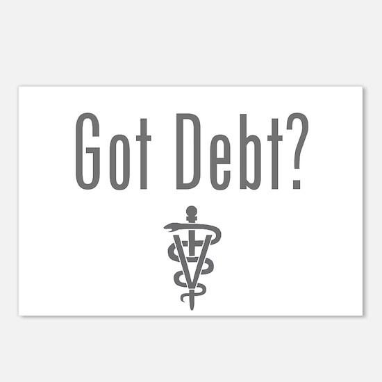 Cute Debt Postcards (Package of 8)