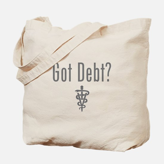 Cute Debt Tote Bag