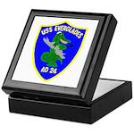 USS Everglades (AD 24) Keepsake Box