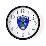 USS Everglades (AD 24) Wall Clock