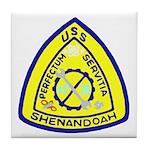 USS Shenandoah (AD 26) Tile Coaster
