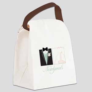 Newlyweds Canvas Lunch Bag