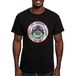 USS GAINARD Men's Fitted T-Shirt (dark)