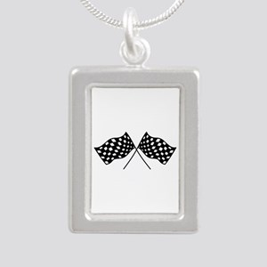 Checkered Flags Necklaces