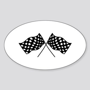 Checkered Flags Sticker