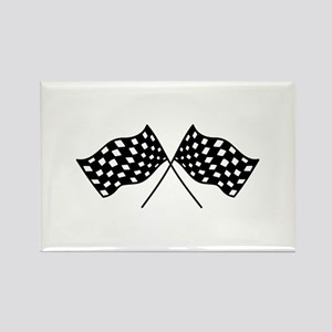 Checkered Flags Magnets