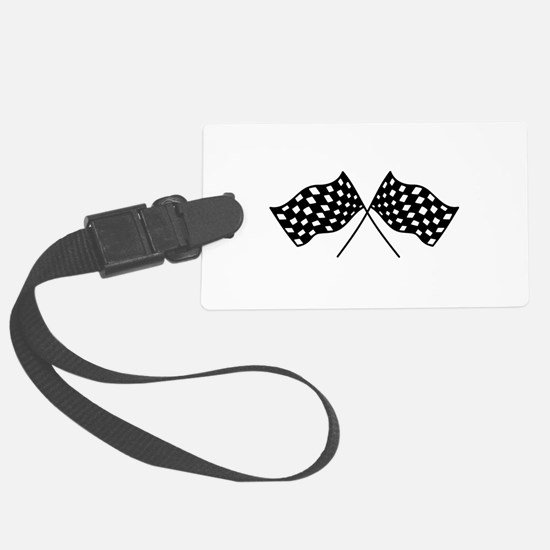 Checkered Flags Luggage Tag