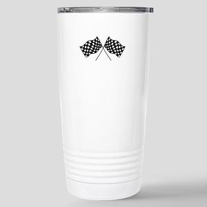 Checkered Flags Travel Mug