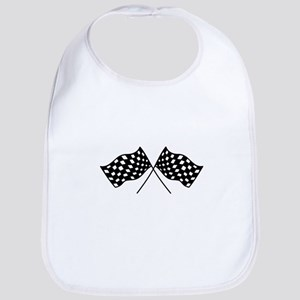 Checkered Flags Bib