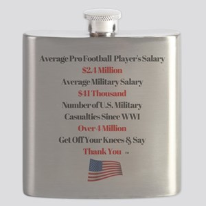 Stand for the National Anthem Flask