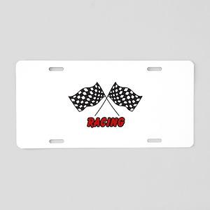 RACING Aluminum License Plate