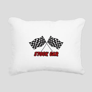 STOCK CAR Rectangular Canvas Pillow
