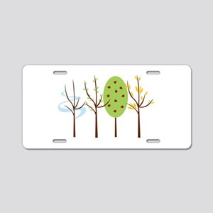 Four Seasons Aluminum License Plate