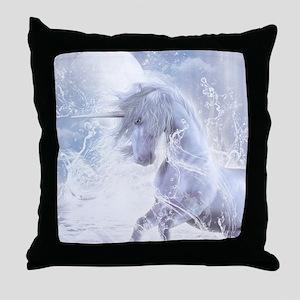 A Dream Of Unicorn Throw Pillow