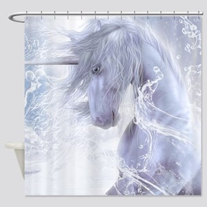A Dream Of Unicorn Shower Curtain