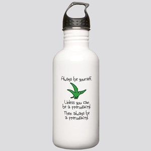 Always Be A Pterodactyl Sports Water Bottle