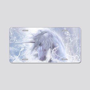 A Dream Of Unicorn Aluminum License Plate