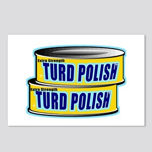 Turd Polish Postcards (Package of 8)