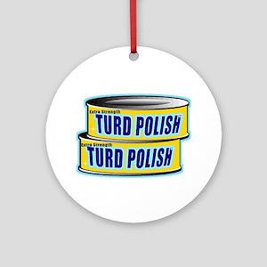 Turd Polish Ornament (Round)