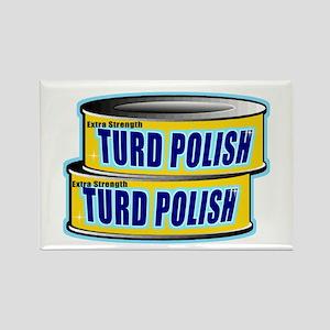 Turd Polish Rectangle Magnet