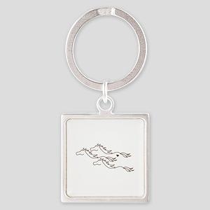 Wild Horses Keychains