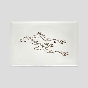 Wild Horses Magnets