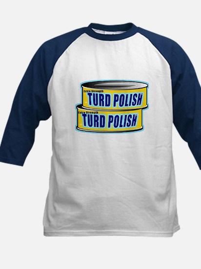 Turd Polish Kids Baseball Jersey