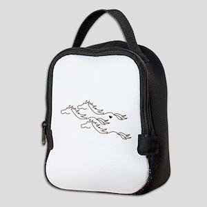 Wild Horses Neoprene Lunch Bag