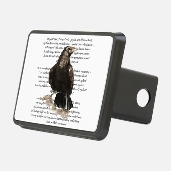 Edgar Allen Poe The Raven Poem Hitch Cover