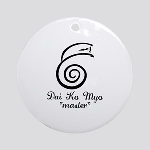 Dai Ko Myo Master Ornament (Round)