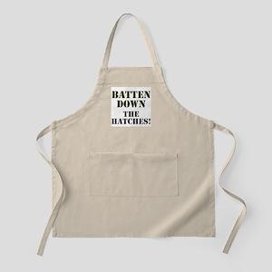 BATTEN DOWN THE HATCHES! Light Apron