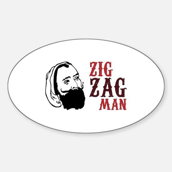 Zig Zag Man Decal