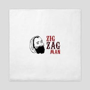 Zig Zag Man Queen Duvet