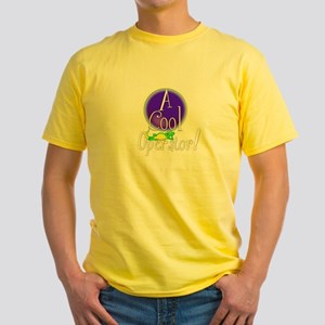 Cool Operator apparel.:-) Yellow T-Shirt
