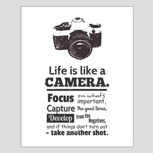 camera-grunge-quote Posters