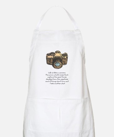 camera-quote-colour Apron
