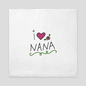 I Love Nana Queen Duvet