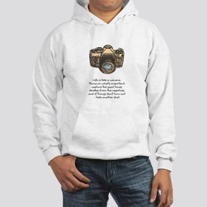 camera-quote-colour Hoodie