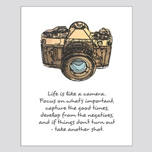 camera-quote-colour Posters