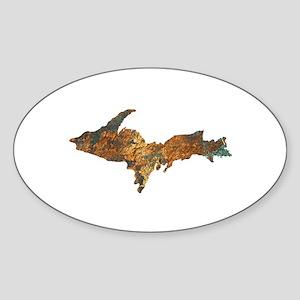 Raw Float Copper Sticker