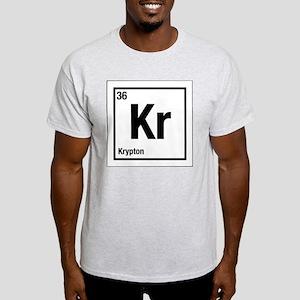 Krypton Kr Periodic Table No.36  Light T-Shirt